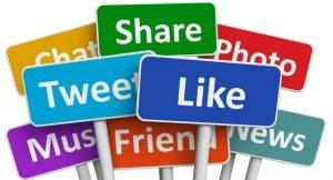 facebook likes, twitter followers, social media