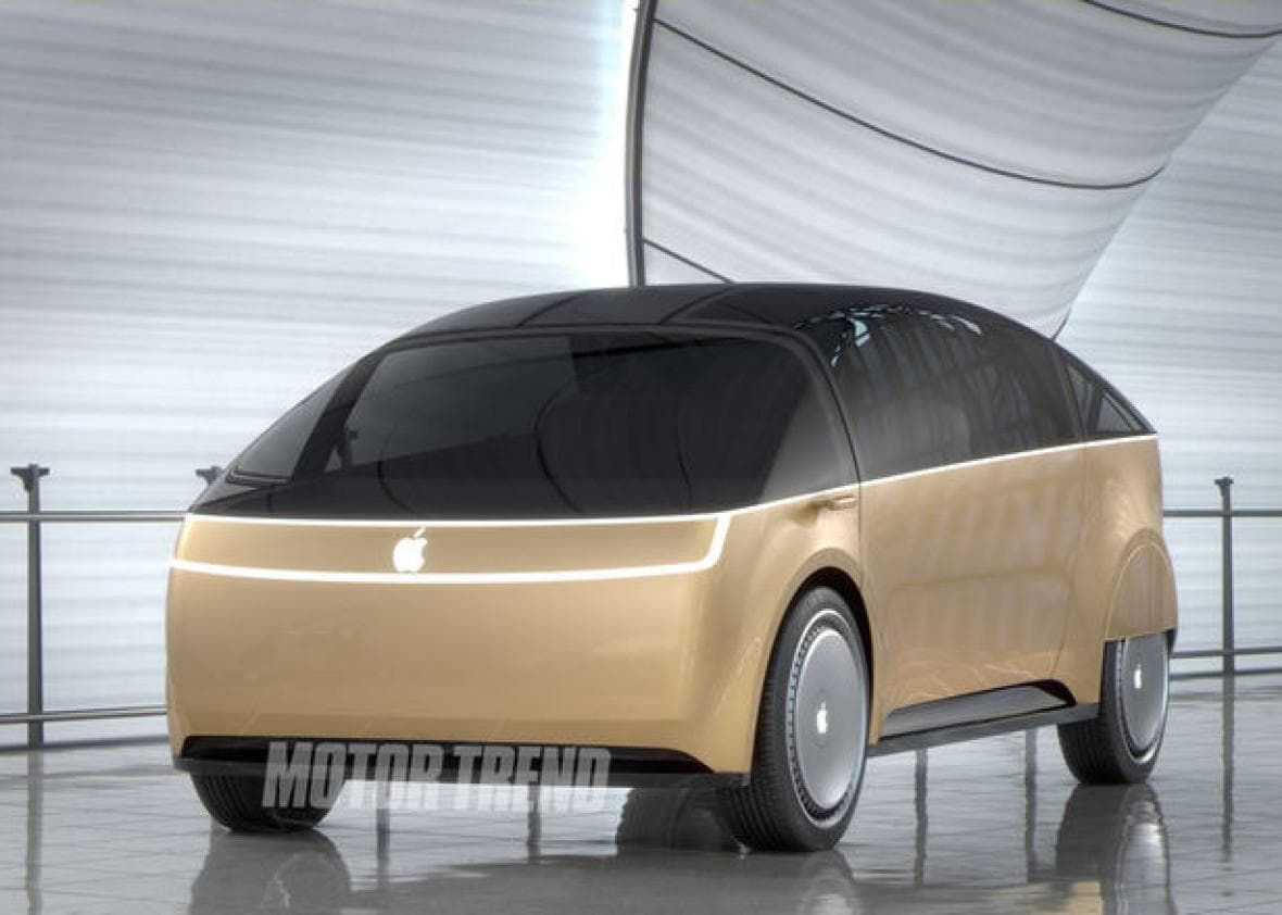 apple leaked electric car