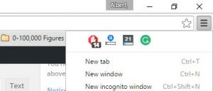 google chrome extensions not showing