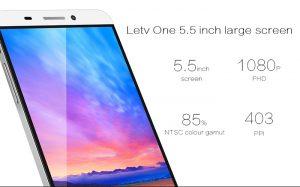 LETV X600 display