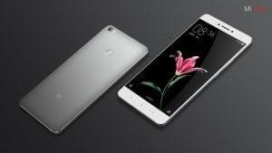 Xiaomi Max design