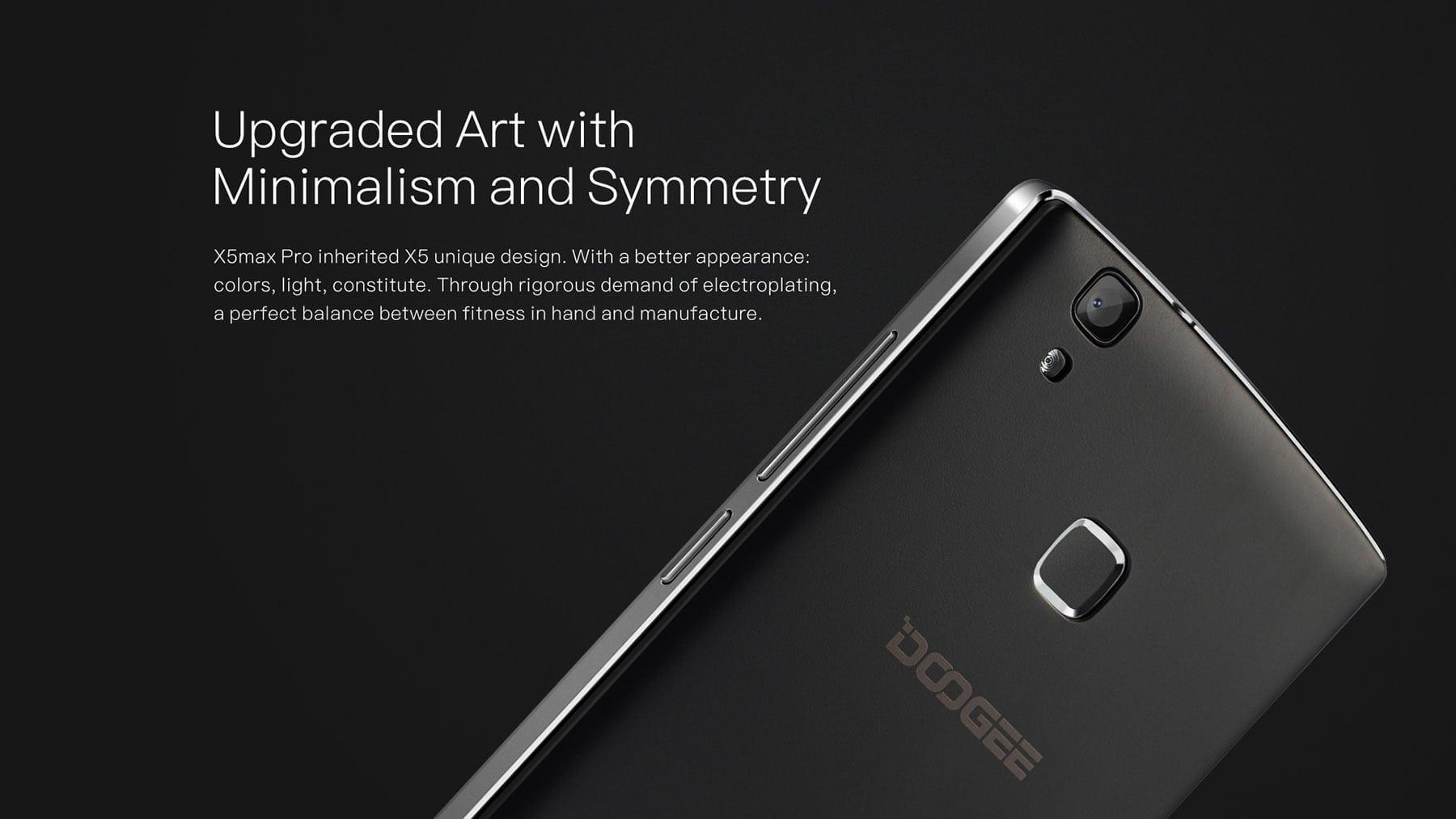 DOOGEE X5 MAX Pro 4G Smartphone