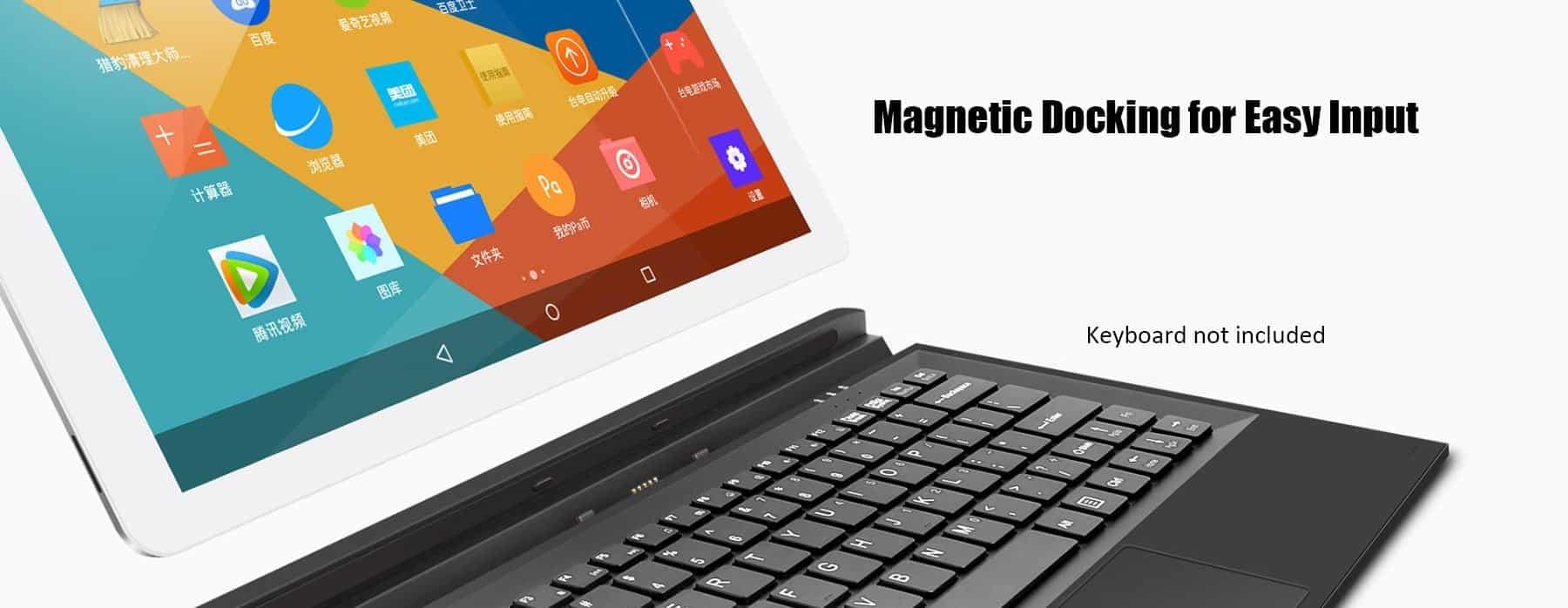 Teclast X16 Plus 2 in 1 Tablet PC