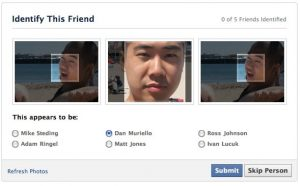facebook identify friends