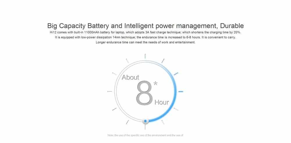 Chuwi Hi12 Tablet PC Battery