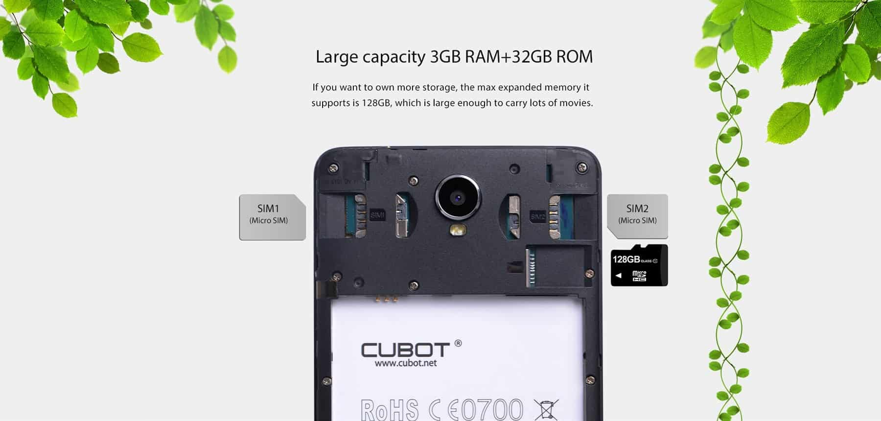 Cubot Max 4G Phablet Performance