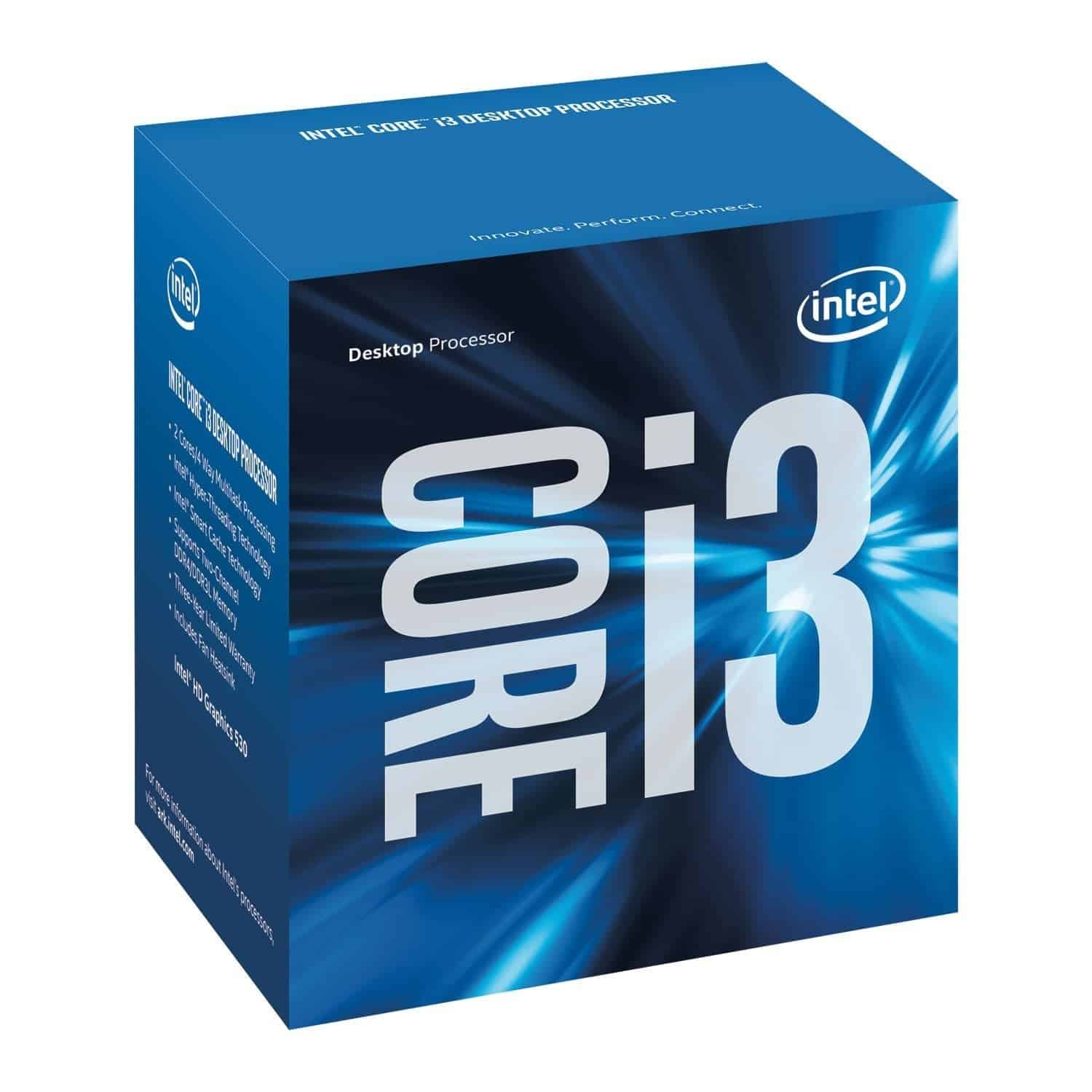 Intel Core i3-6100 custom pc