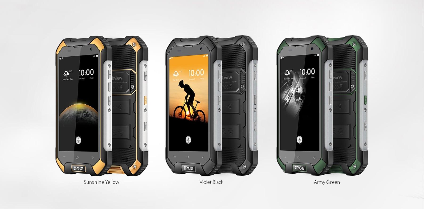blackview bv6000 4g smartphone