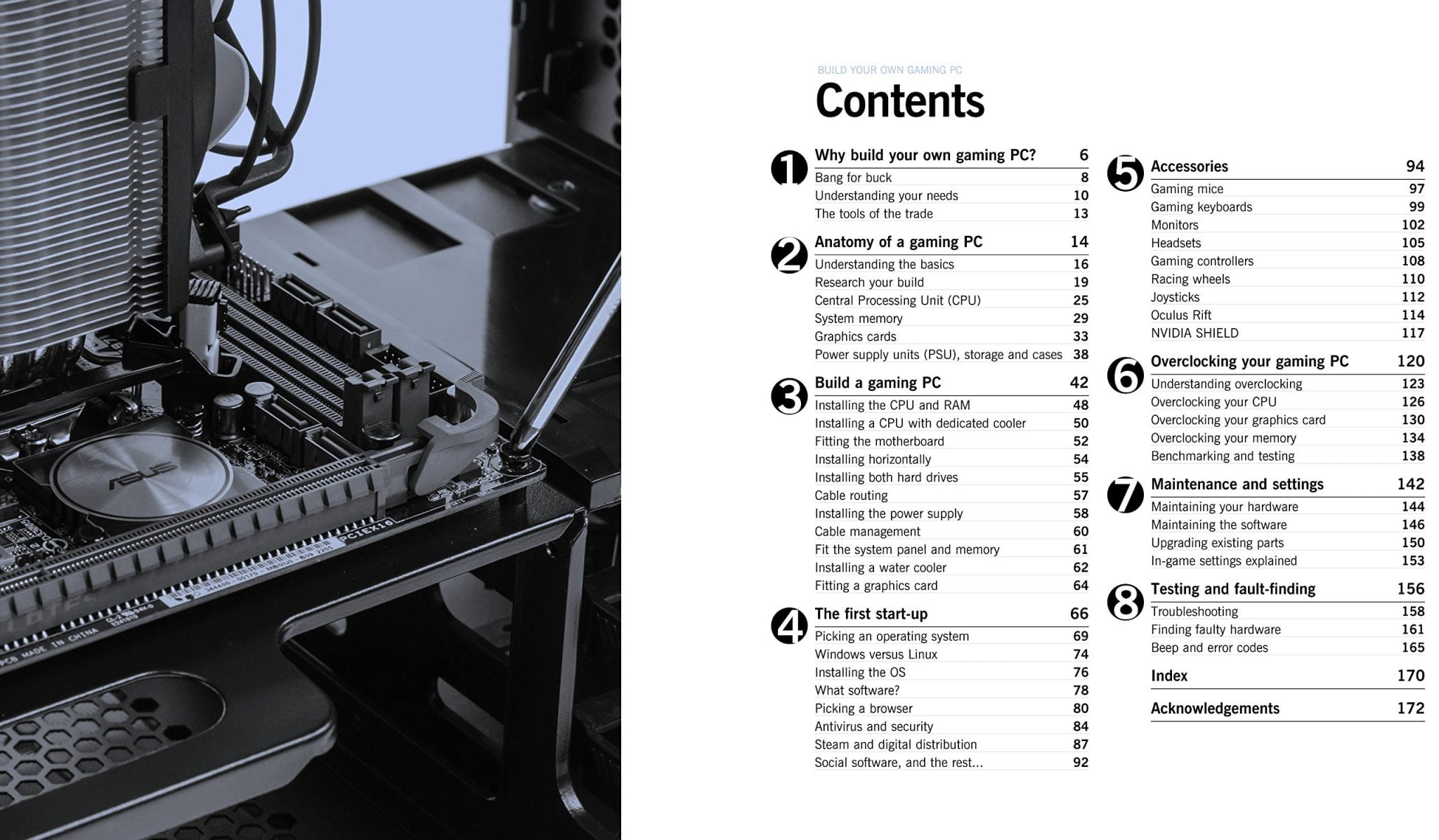 build your own gamming pc manual
