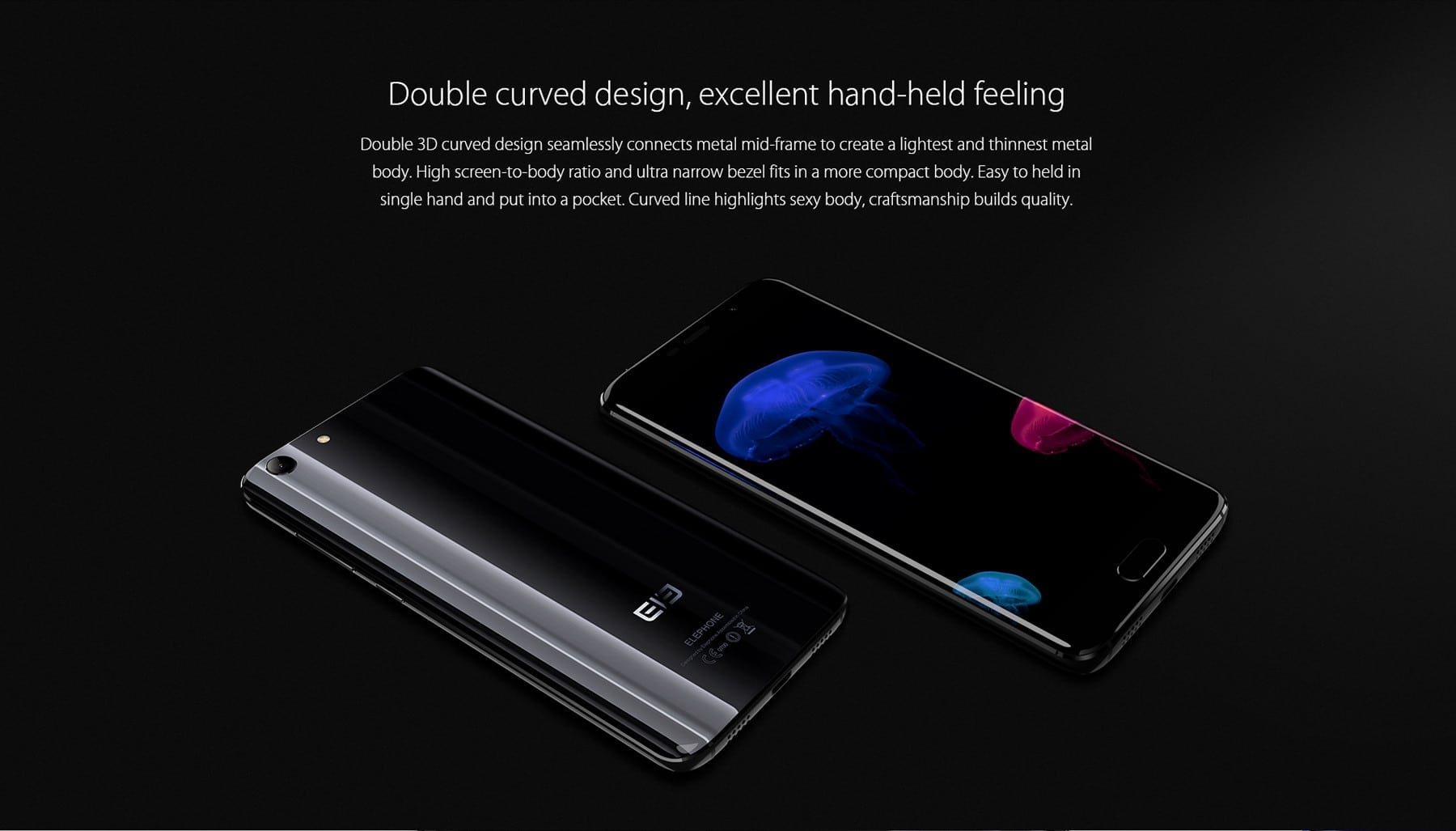 Elephone s7 design