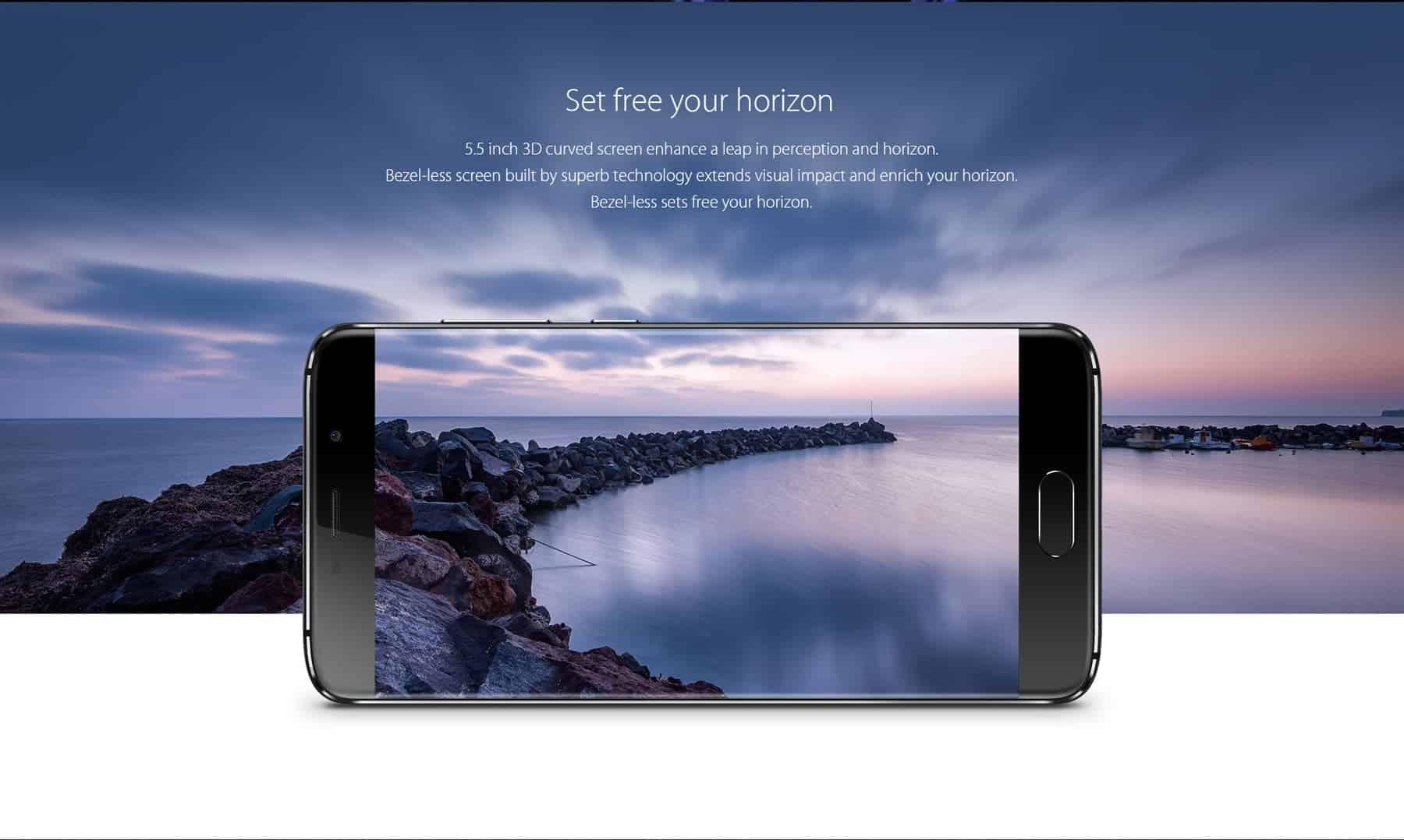 Elephone s7 display