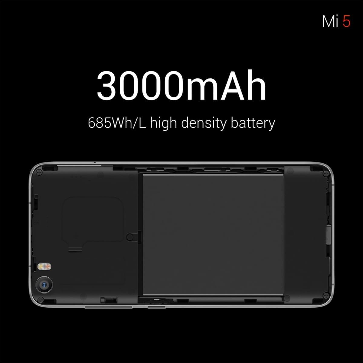 xiaomi mi5 battery