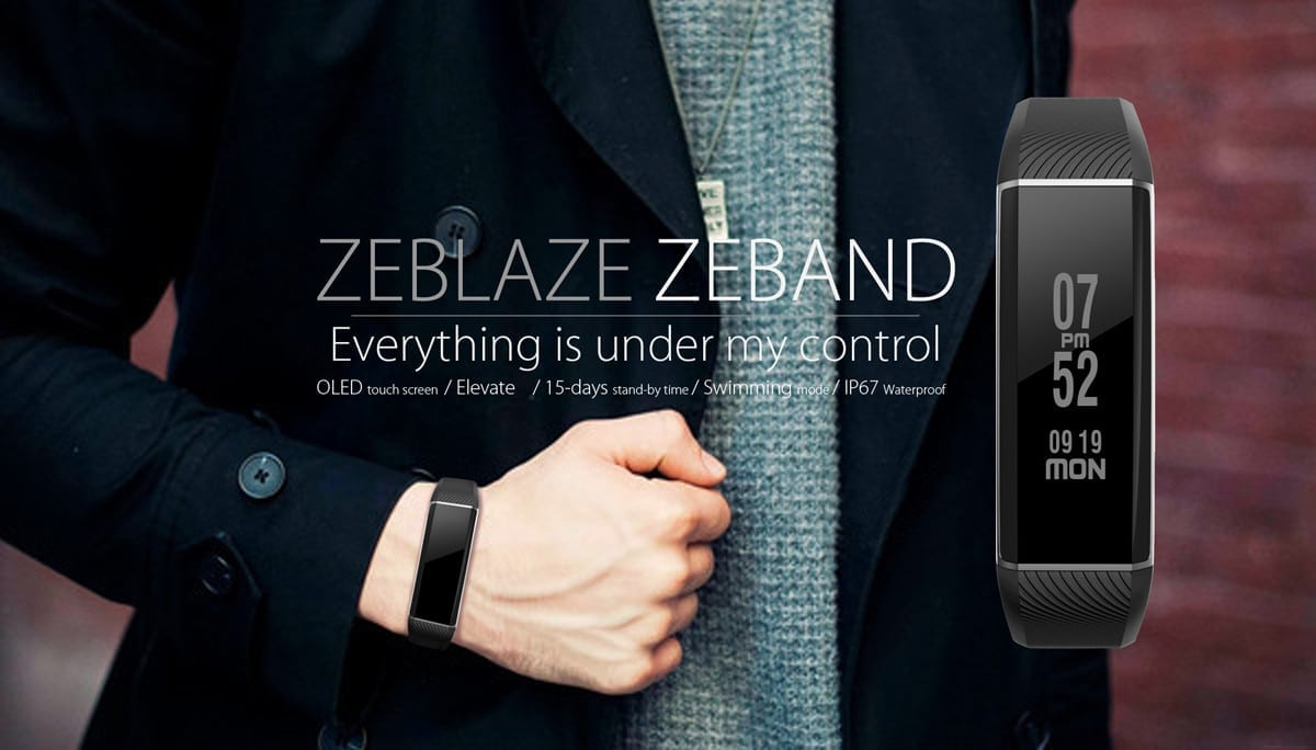 zeblaze zeband heart rate monitor