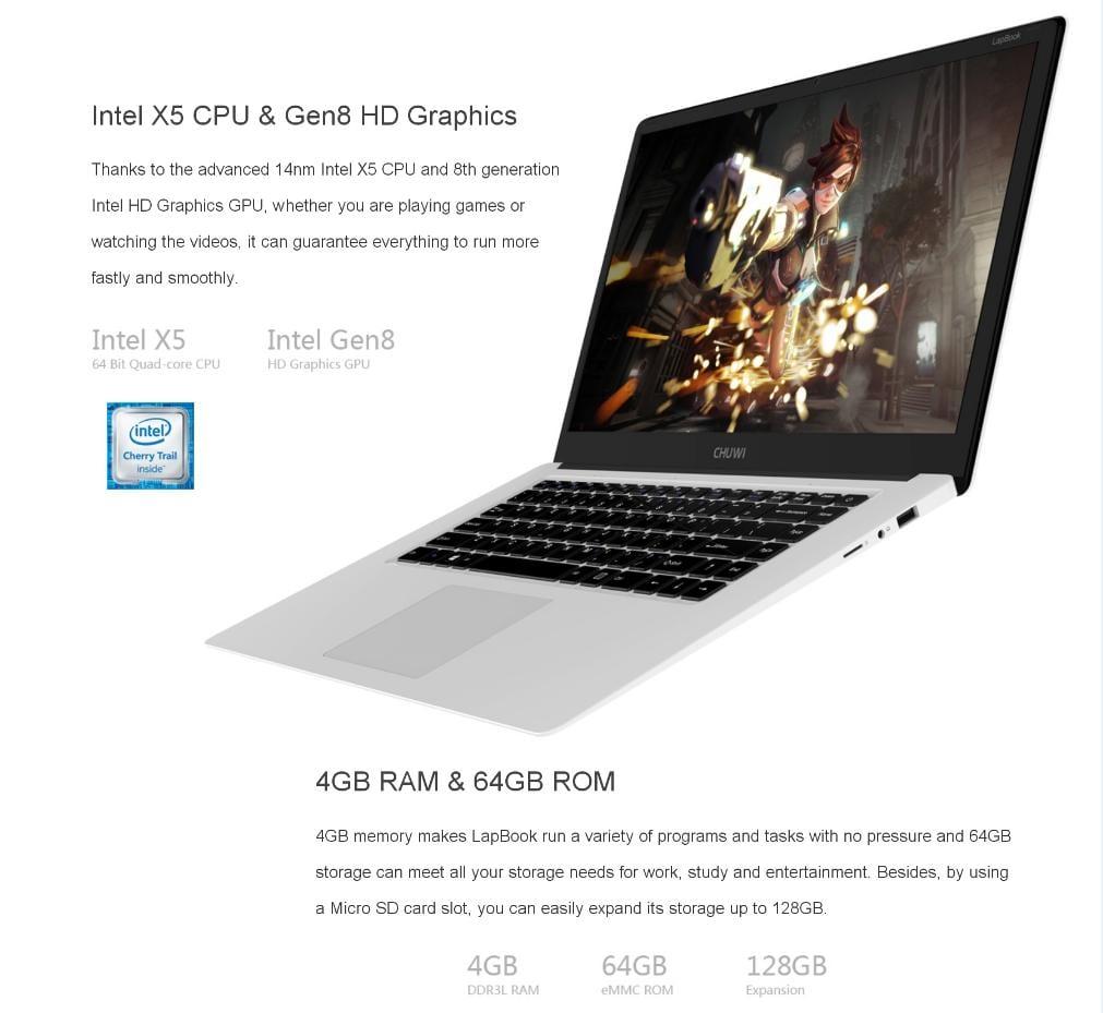 CHUWI LapBook Performance