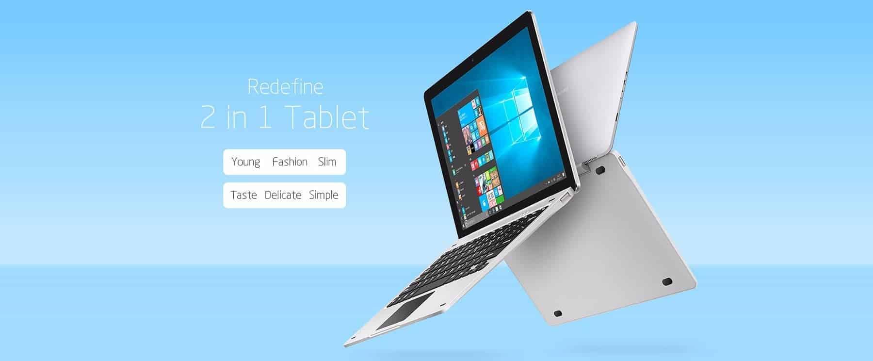 Teclast TBook 12 Pro Design