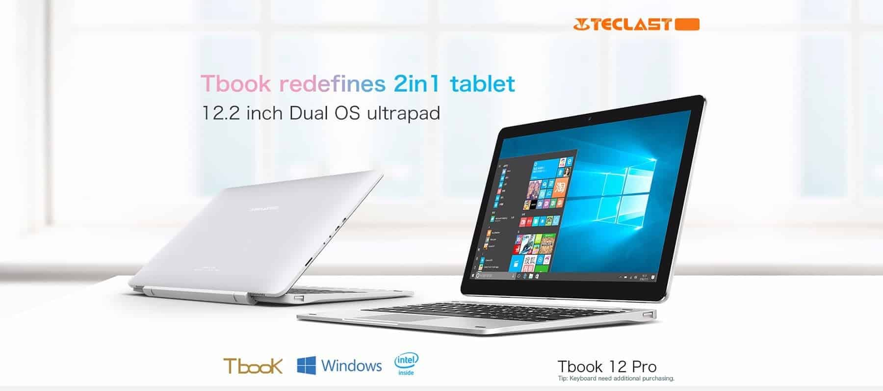 Teclast TBook 12 Pro Review
