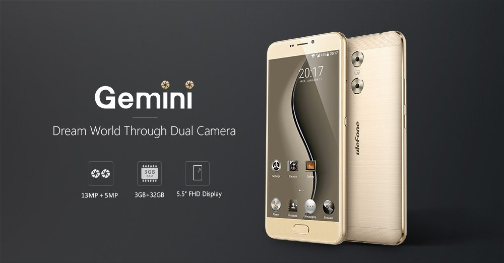 Ulefone Gemini 4G Phablet Review
