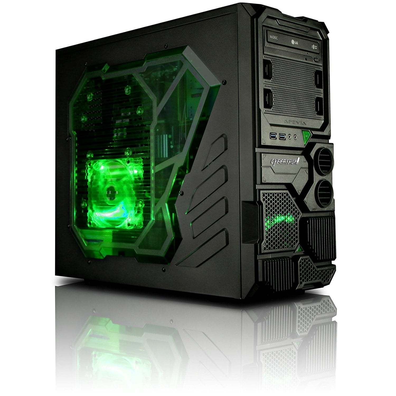 gaming pc under 500 CybertronPC Borg-Q Gaming Desktop