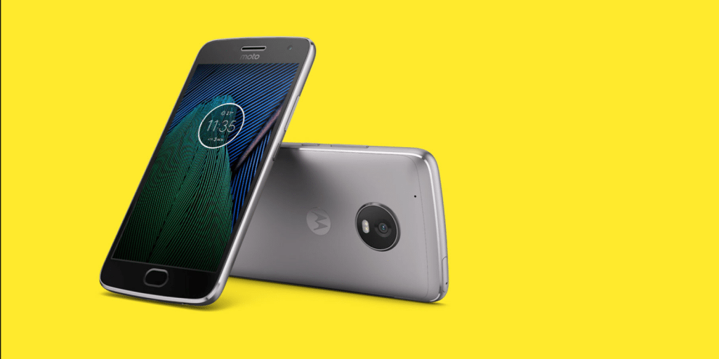 """The Moto G5 Plus occupies the #1 position in our list of """"Top Budget Smartphones 2017"""""""