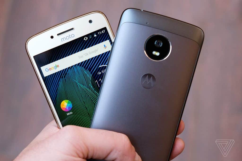 Top Moto G5 Plus features