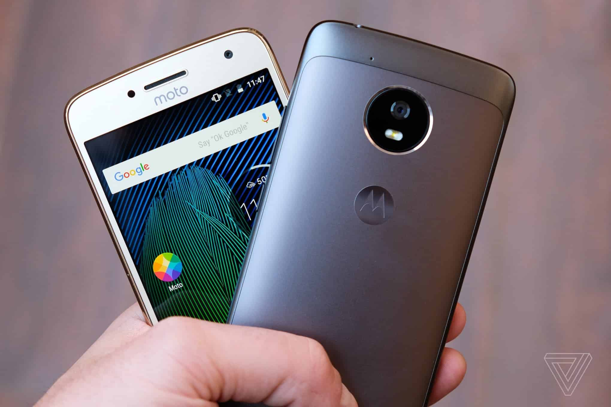 Top Moto G5 Plus features