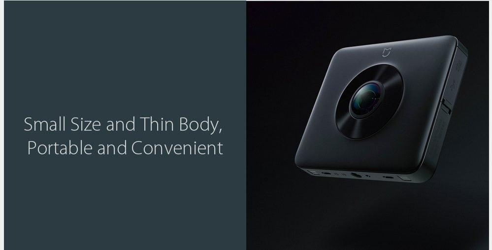 Xiaomi Mijia 3.5K Panorama: Small size and thin body