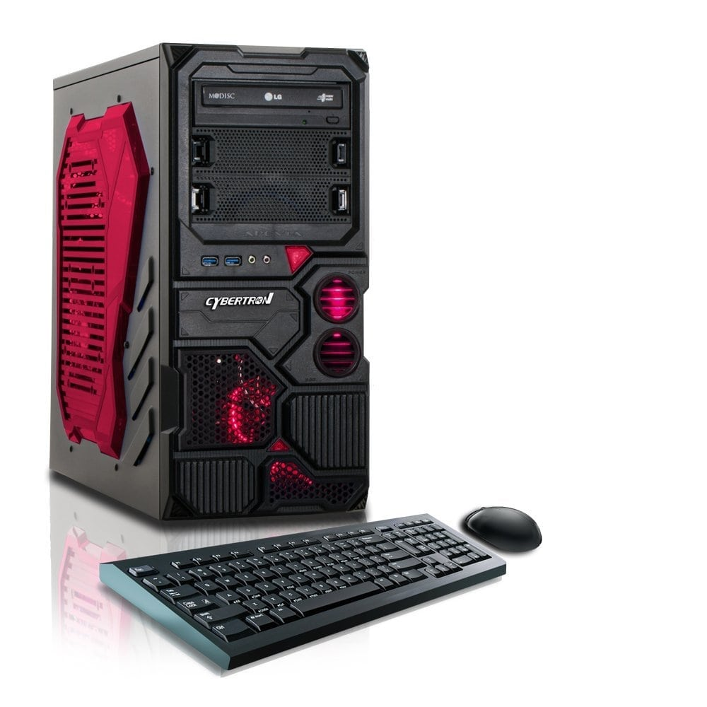Cheap desktop computer - Best Gaming Pc Under 500 Cybertronpc Borg Q Gaming Desktop