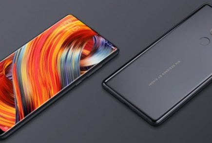 Xiaomi Mi Mix 2 Review display