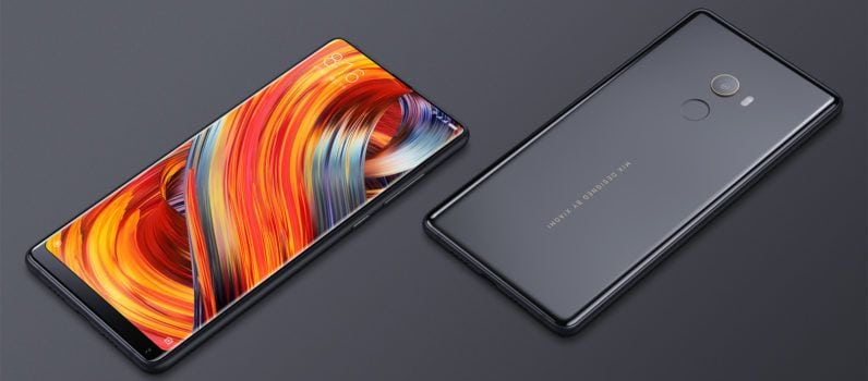 Xiaomi Mi Mix 2 Review display