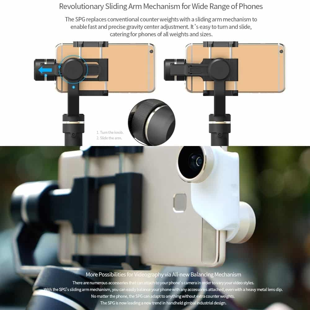 a review of the SPG 3-axis gimbal