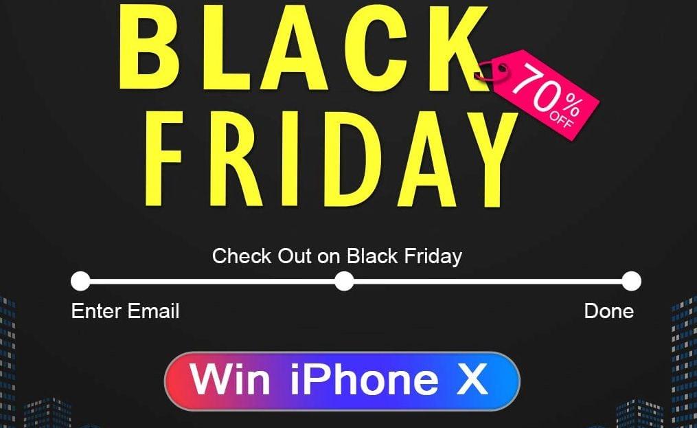 black friday win iphone x dodocool