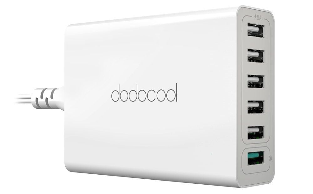 dodocool USB Charger 6 Ports USB Charging Station Review