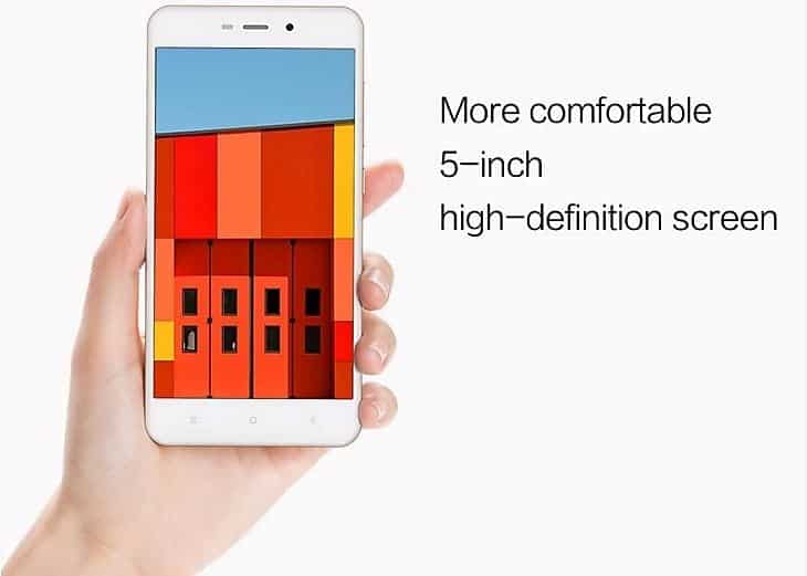 xiaomi redmi 4a review screen