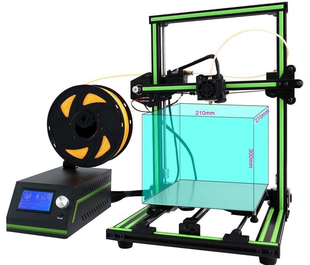 Anet E10 3D Printer Review Assembling