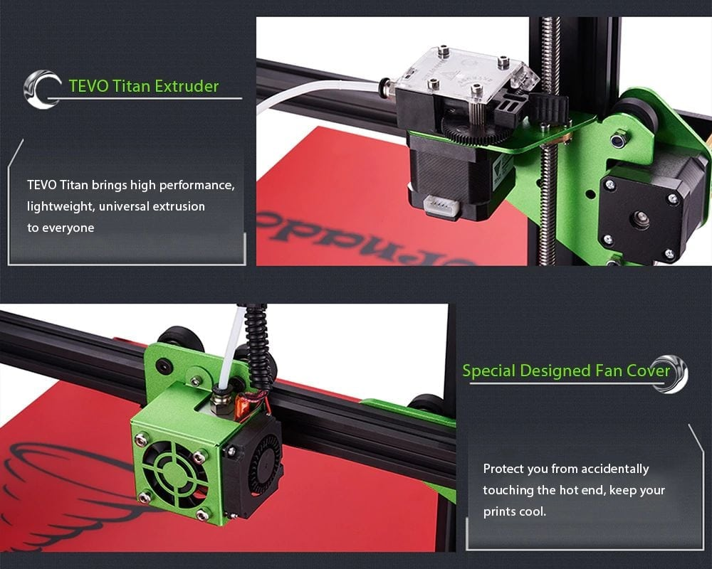 Tevo Tornado 3D Printer Features Review