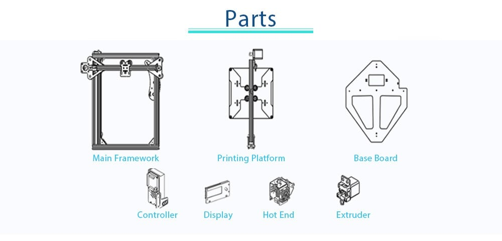 Zonestar Z5F 90 3D Printer Review setup