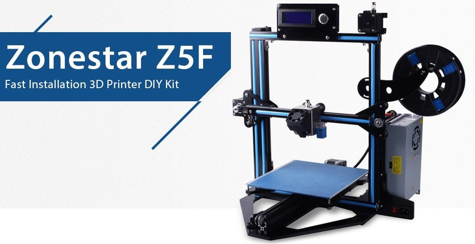 Zonestar Z5F 90 3D Printer Review