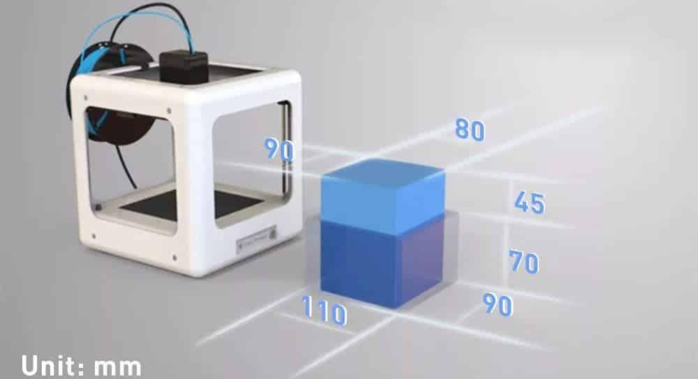 easythreed e3d nano build volume review