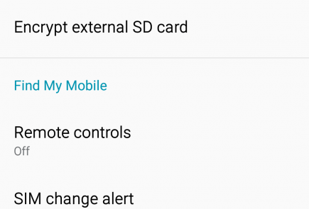 Enable FRP on Samsung Galaxy