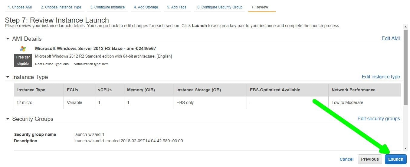 review instance launch vps