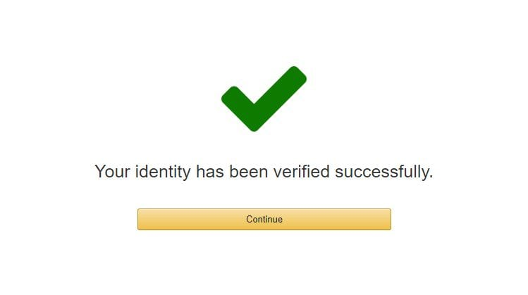 successfully verified VPS