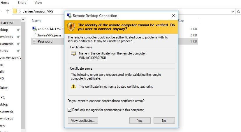 vps certificates