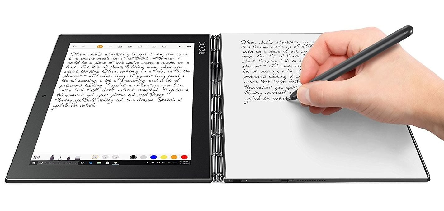 Tablet PC for drawing Lenovo Yoga Book