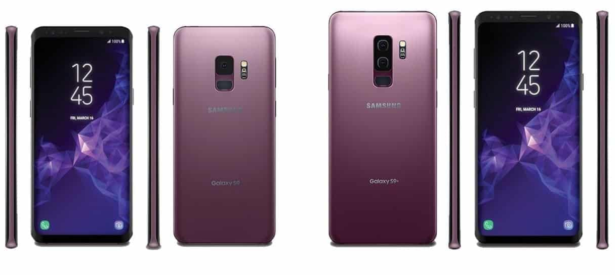 mobile world congress 2018 Samsung Galaxy S9 S9+