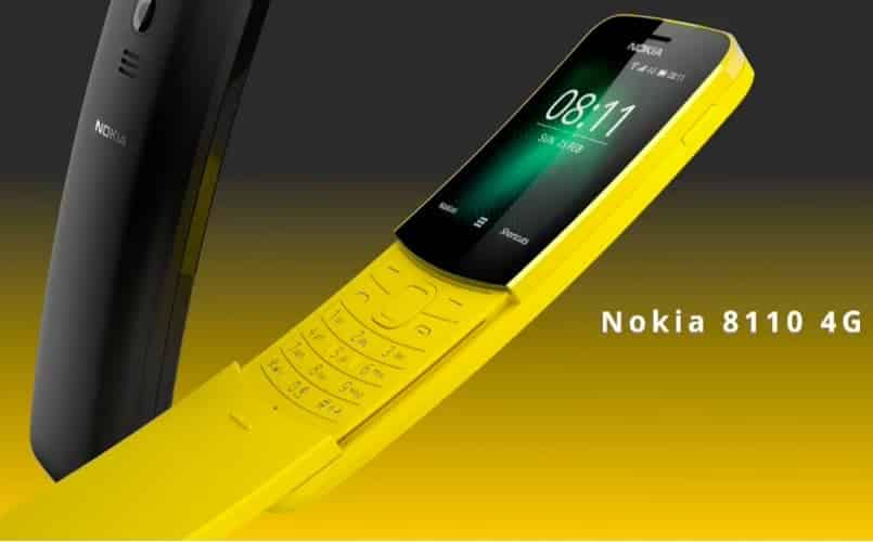 nokia-8110 banana phone mwc 2018