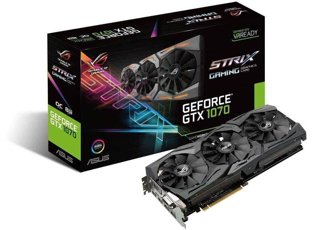 GPU 2018 ASUS GeForce GTX 1070