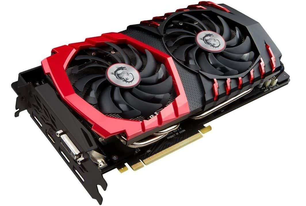 GPU 2018 MSI Gaming GeForce GTX 1070