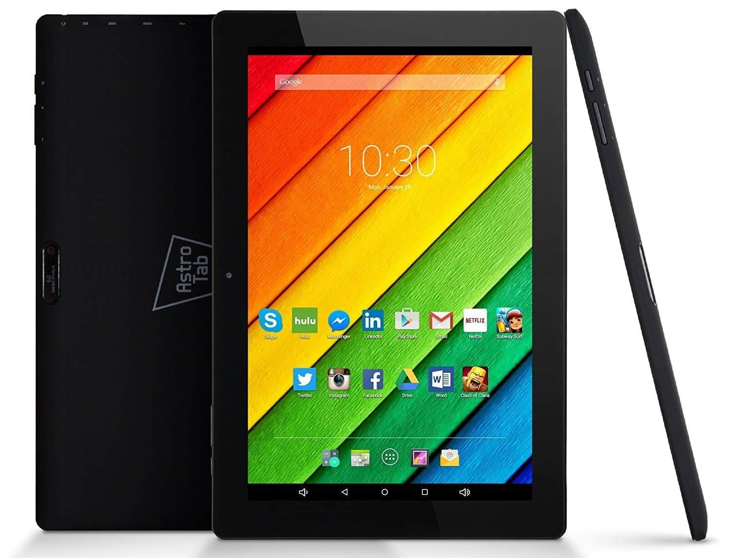 Astro Tab A10 Best Tablets with USB Ports