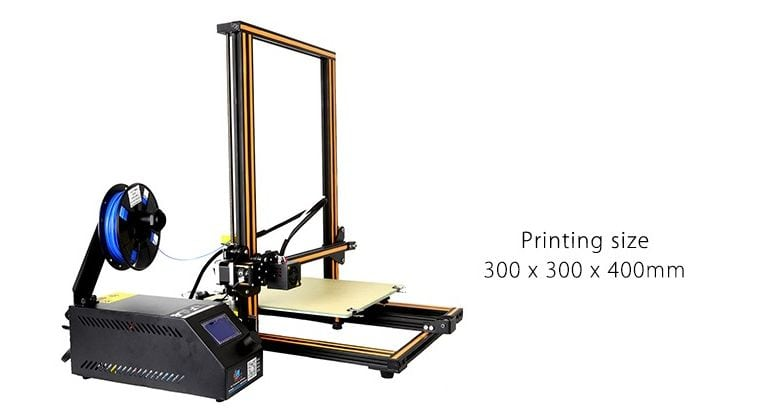 best 3d printer under 500 cr-10s review