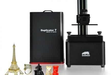 Wanhao best 3d printer for miniatures